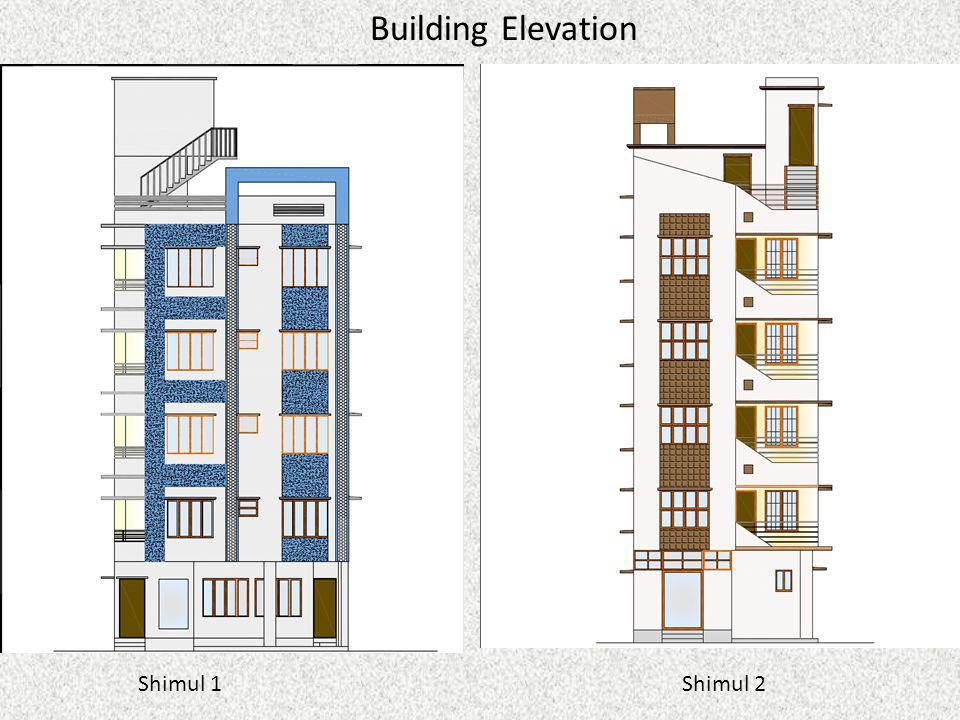 Building Elevation Shimul 1 Shimul 2