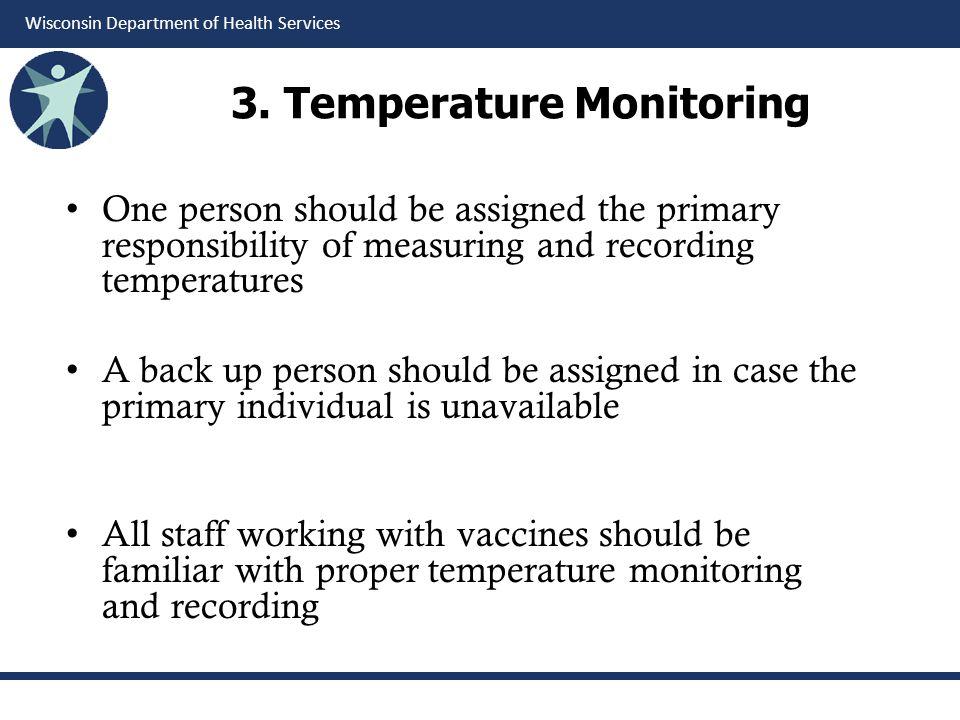 3. Temperature Monitoring
