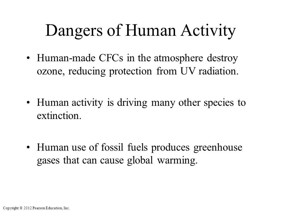 Dangers of Human Activity