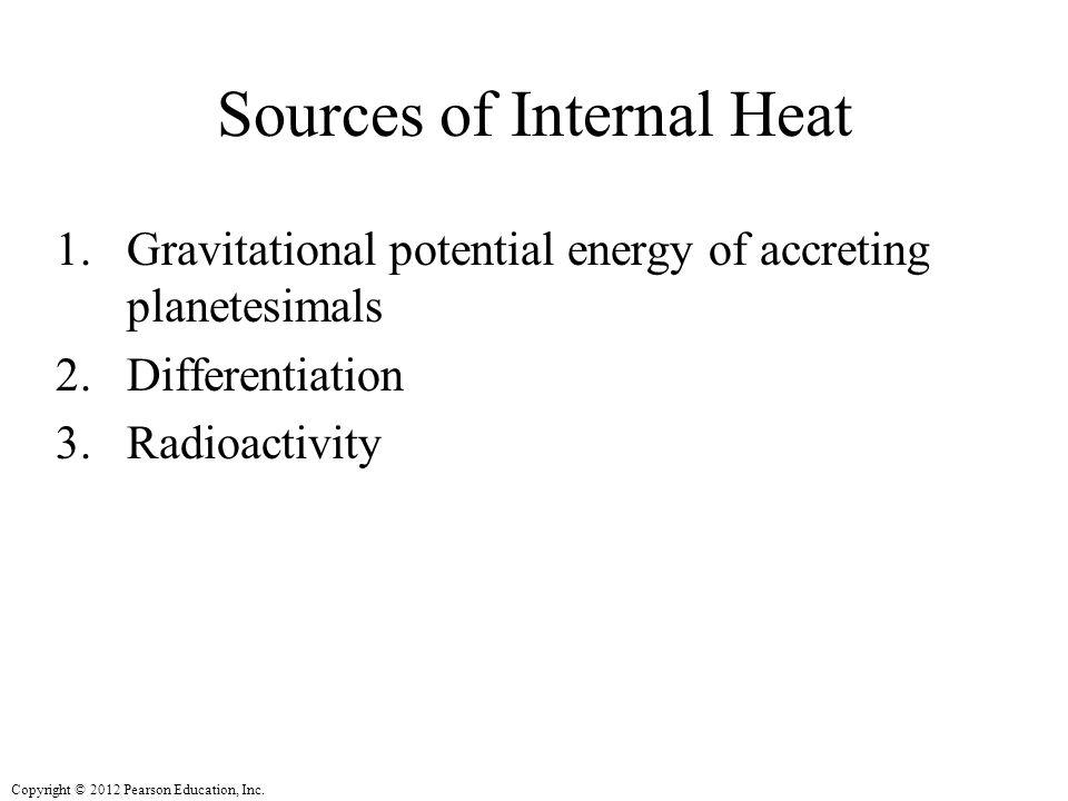 Sources of Internal Heat