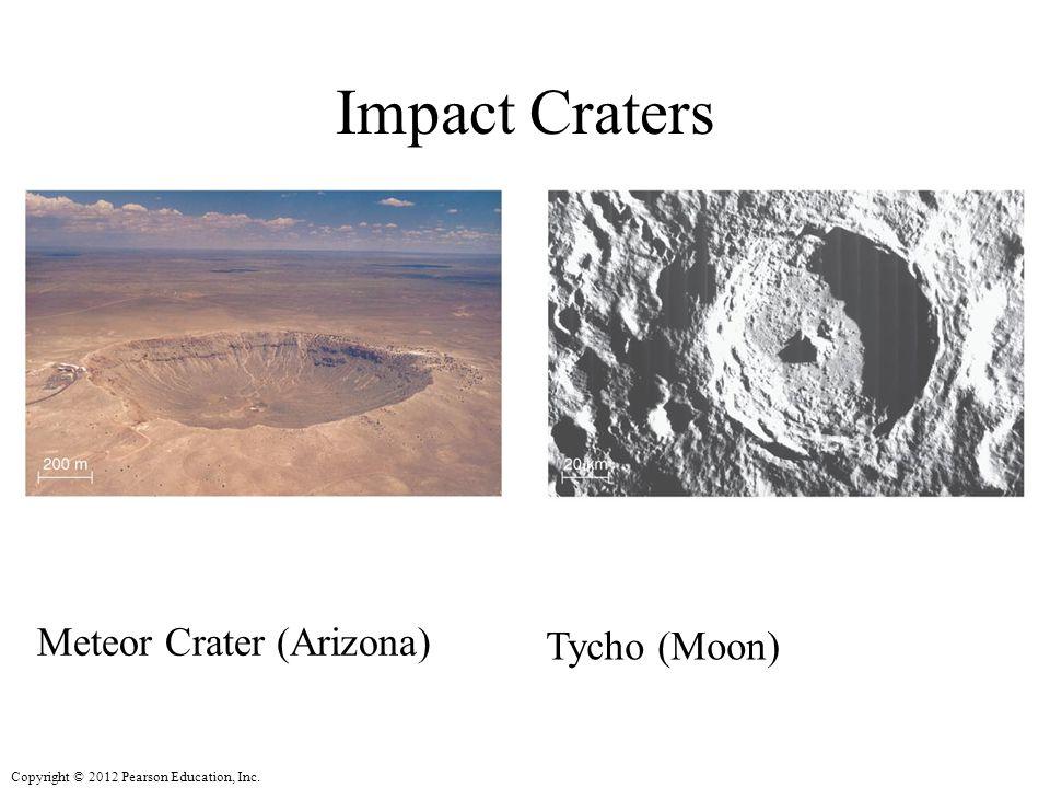 Impact Craters Meteor Crater (Arizona) Tycho (Moon)