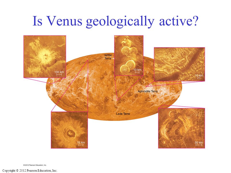 Is Venus geologically active