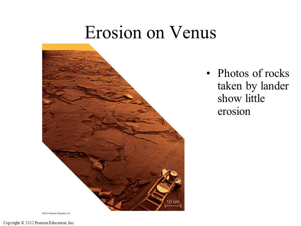 Erosion on Venus Photos of rocks taken by lander show little erosion