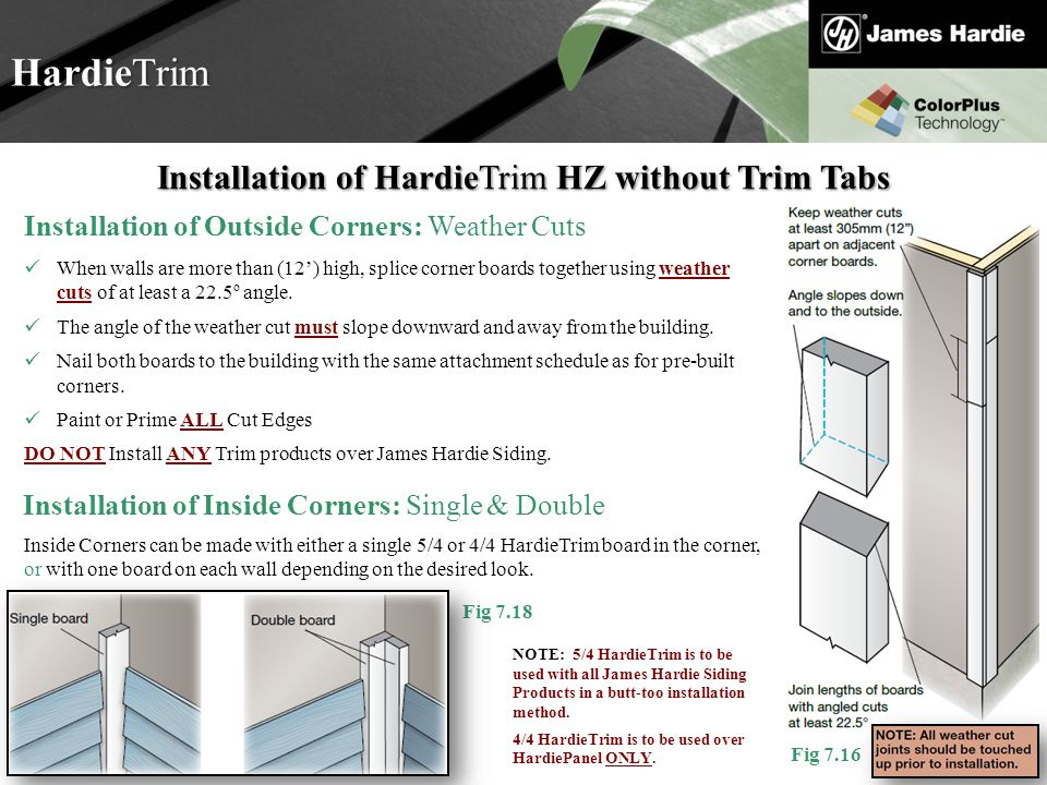 Trim Tab Installation : Welcome to hardie basic training ppt download