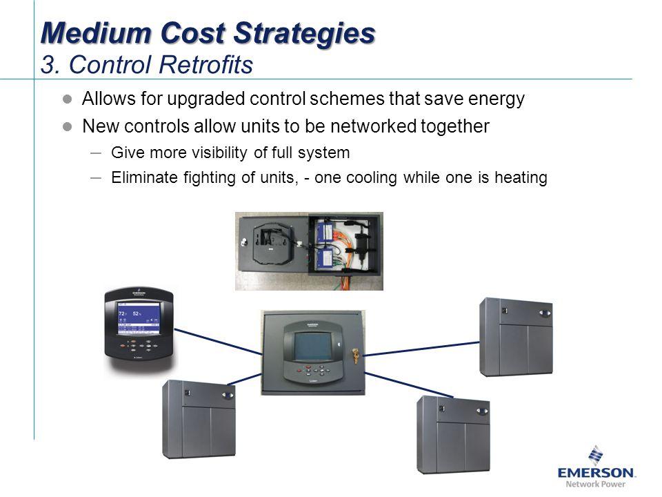 Medium Cost Strategies 3. Control Retrofits
