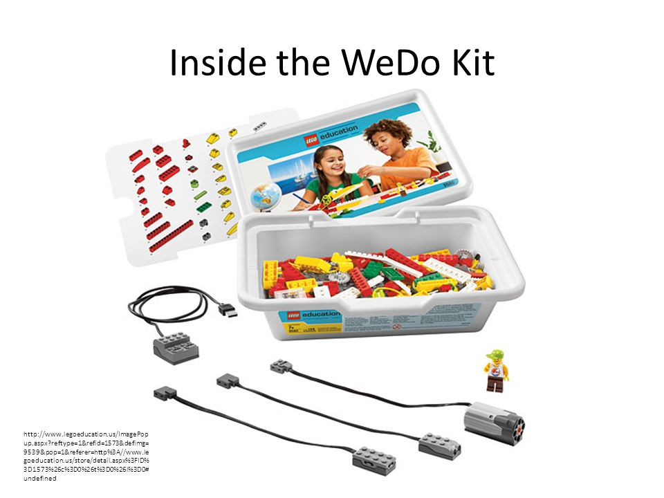 Inside the WeDo Kit