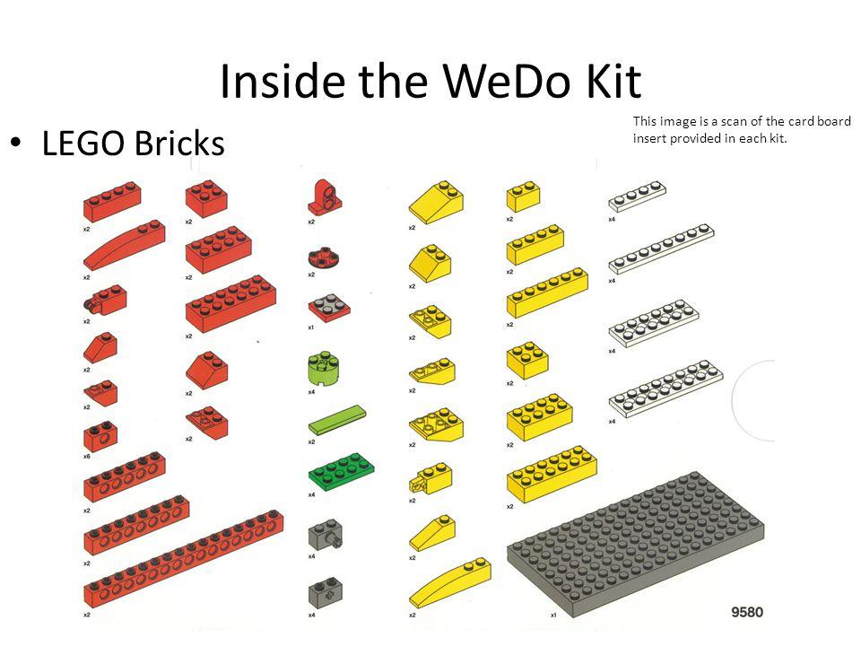 LEGO WeDo Introduction - ppt download