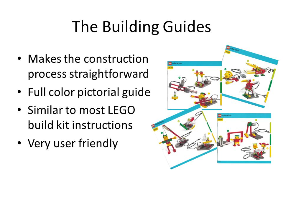 The Building Guides Makes the construction process straightforward