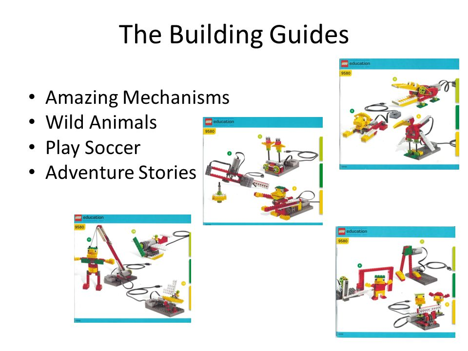 The Building Guides Amazing Mechanisms Wild Animals Play Soccer