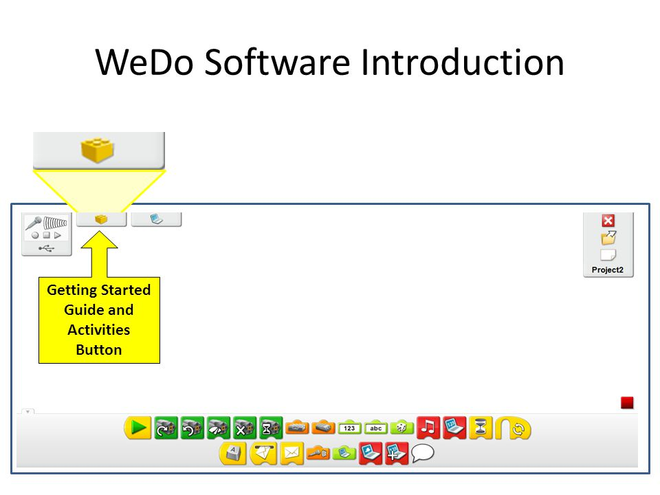 WeDo Software Introduction
