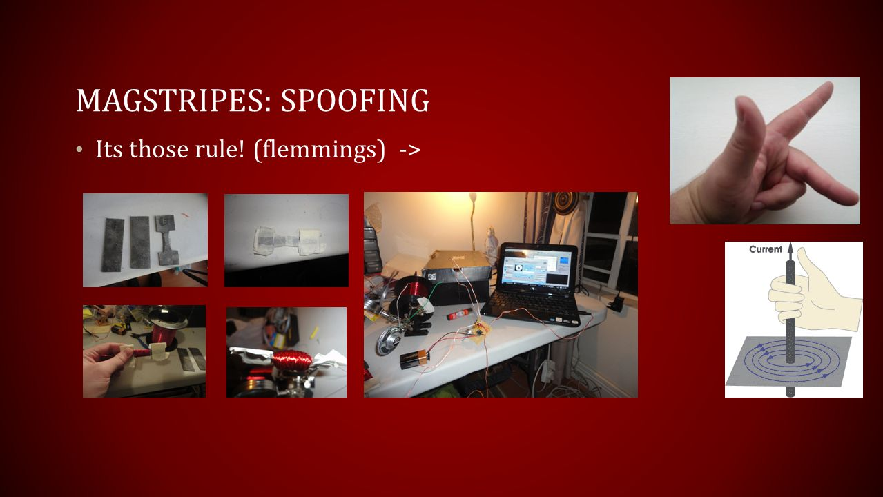 Magstripes: Spoofing Its those rule! (flemmings) ->