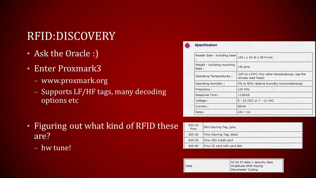 RFID:Discovery Ask the Oracle :) Enter Proxmark3
