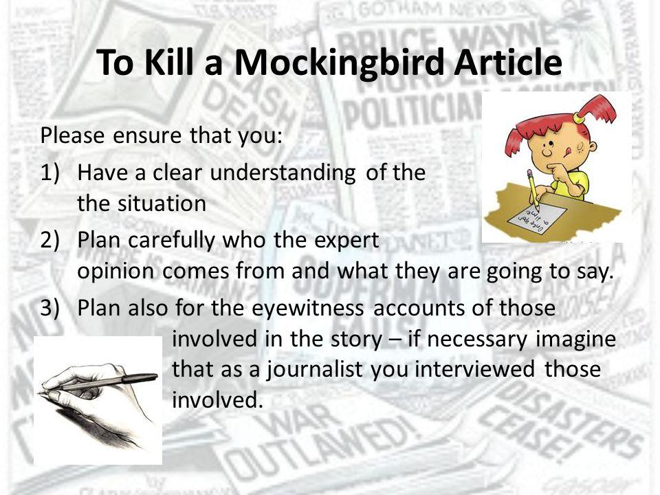To Kill a Mockingbird Article