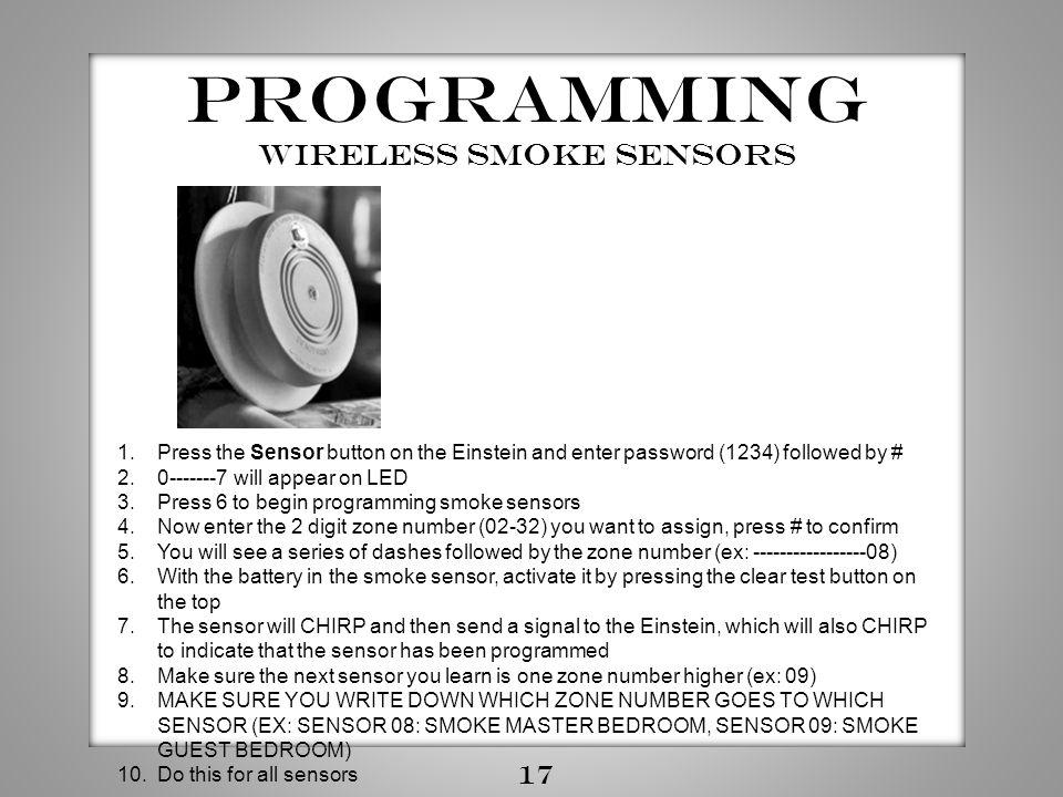 wireless smoke sensors
