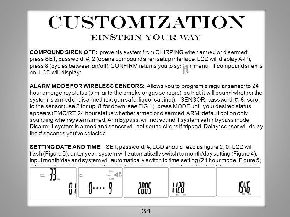 Customization Einstein your way 34