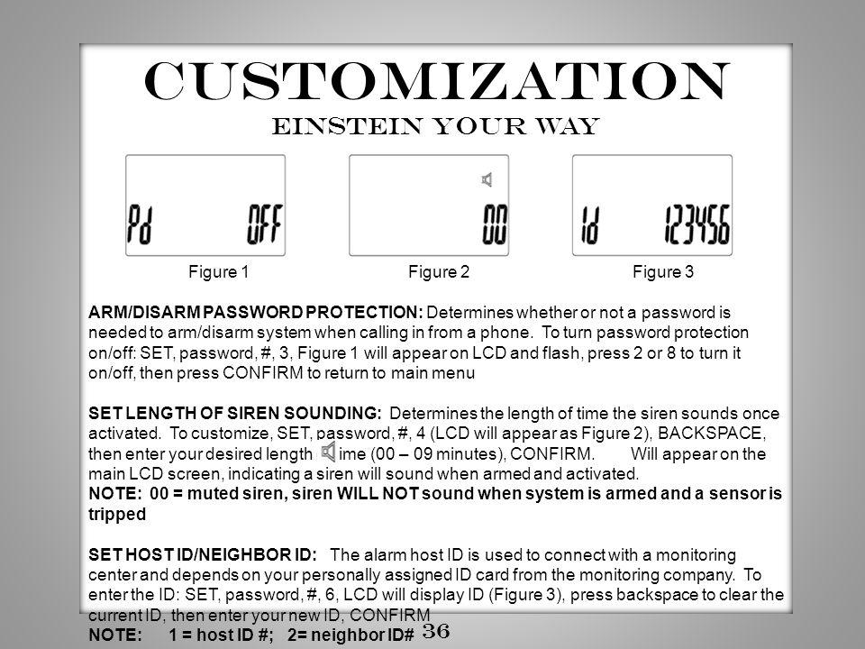 Customization Einstein your way 36 Figure 1 Figure 2 Figure 3