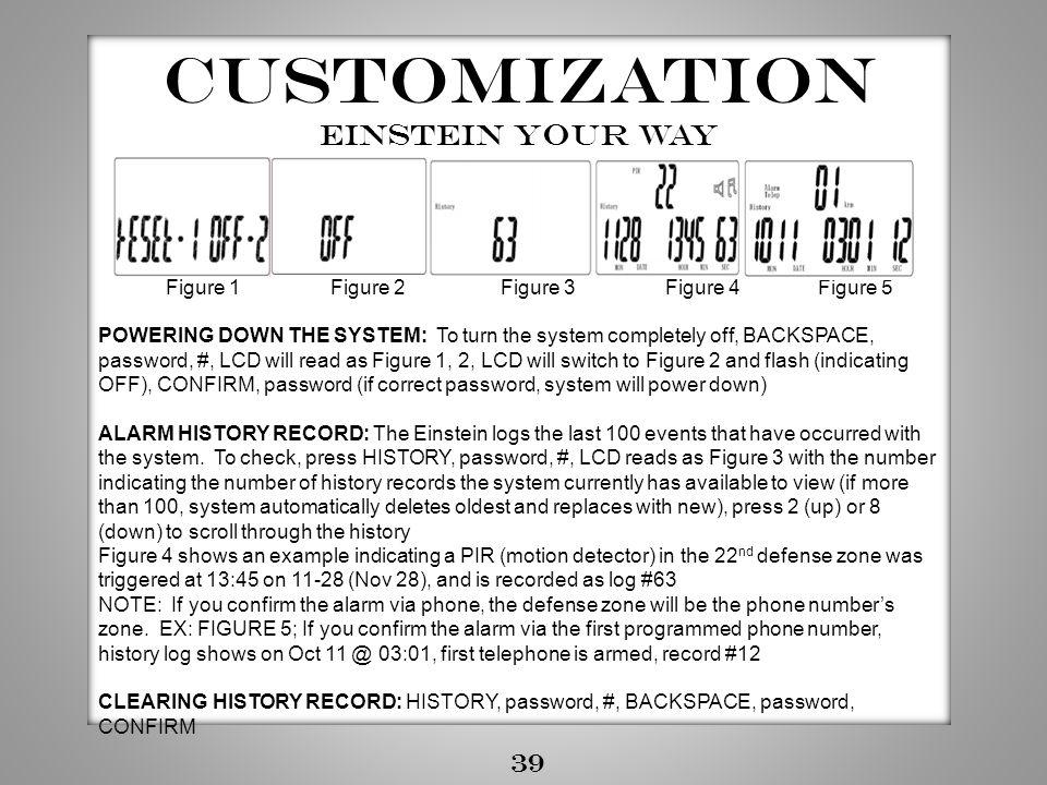 Customization Einstein your way 39