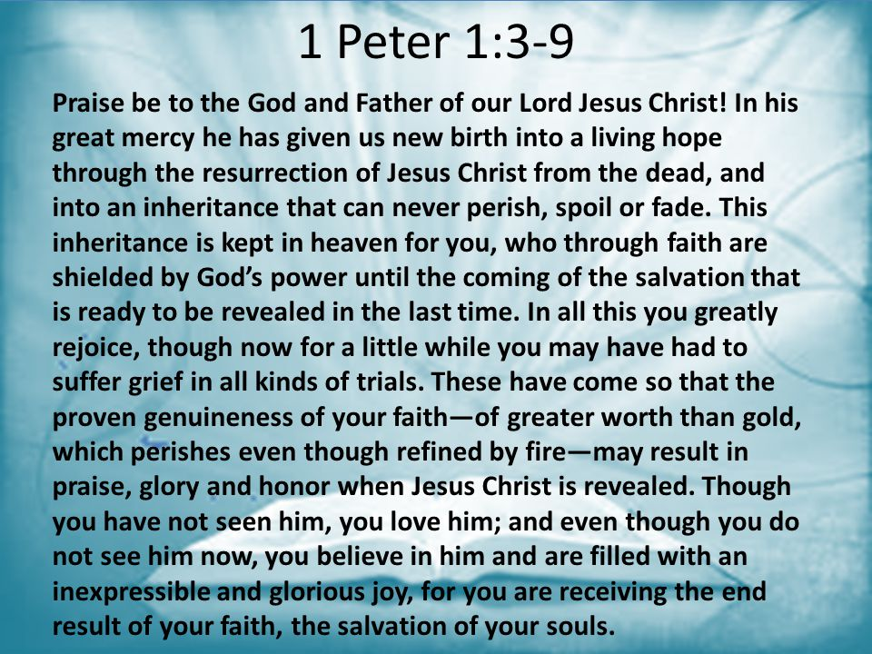 1 Peter 1:3-9