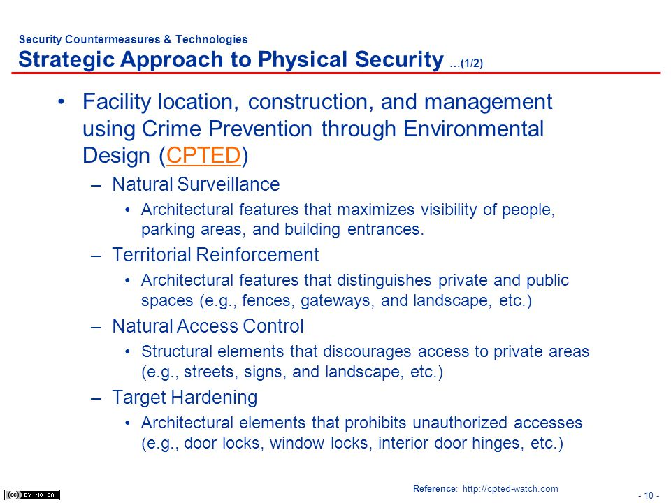 Security Countermeasures & Technologies Strategic Approach to Physical Security …(1/2)