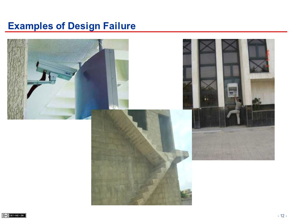 Examples of Design Failure