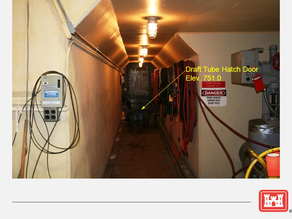 Draft Tube Hatch Door Elev. 751.0