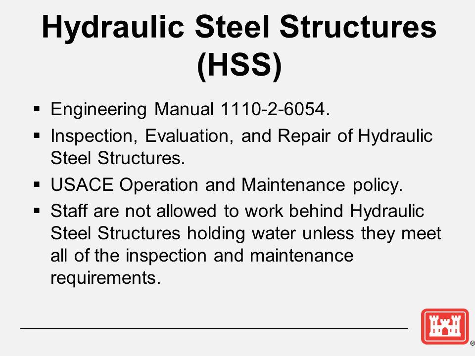 Hydraulic Steel Structures (HSS)