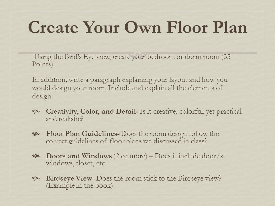 Interior design fcs intro ppt download for How to create your own floor plan