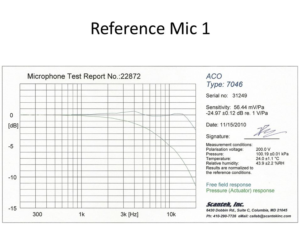 Reference Mic 1