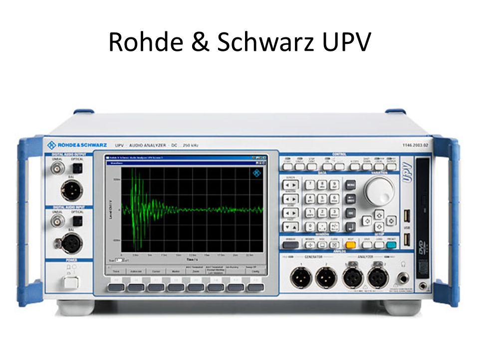 Rohde & Schwarz UPV