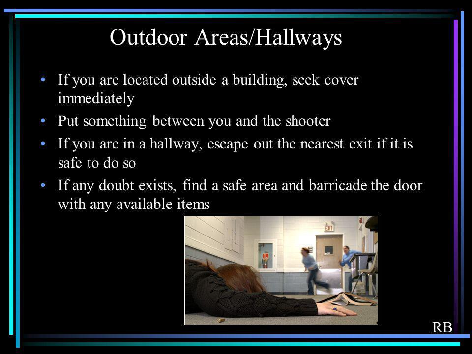 Outdoor Areas/Hallways