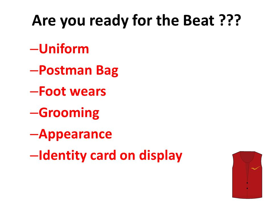 Are you ready for the Beat