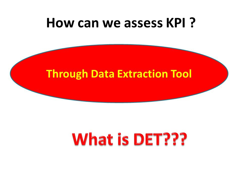Through Data Extraction Tool