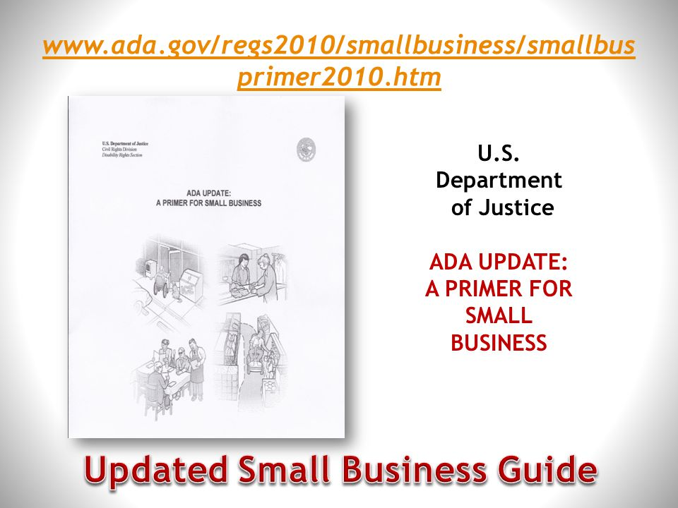 Updated Small Business Guide