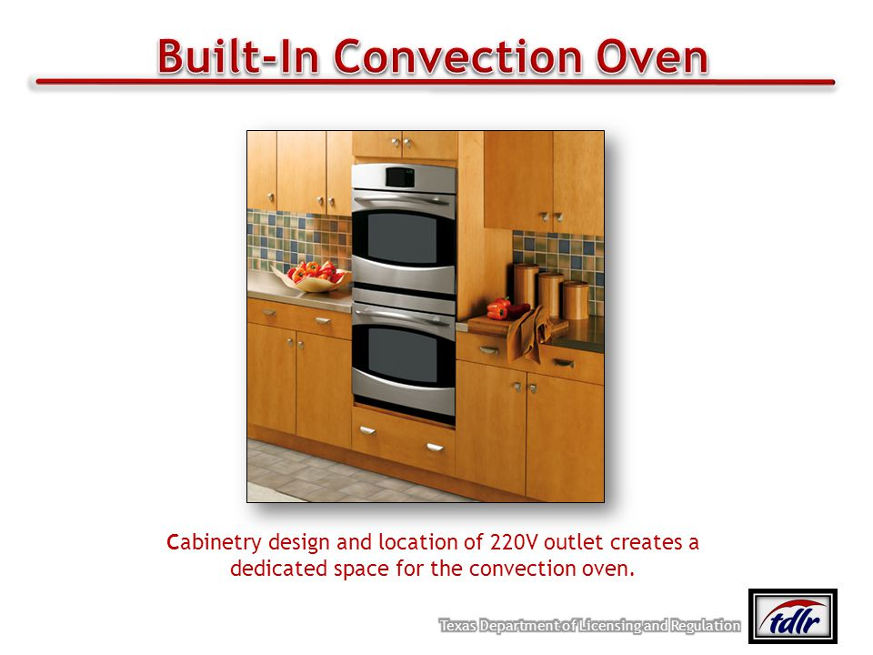 Built-In Convection Oven