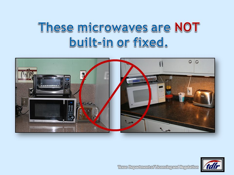 These microwaves are NOT