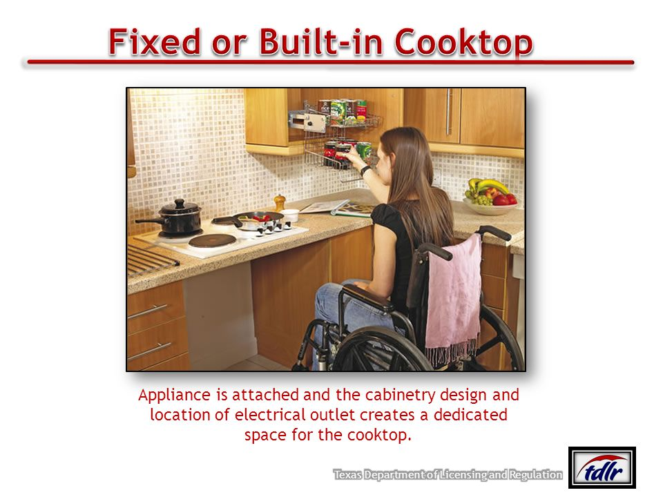 Fixed or Built-in Cooktop