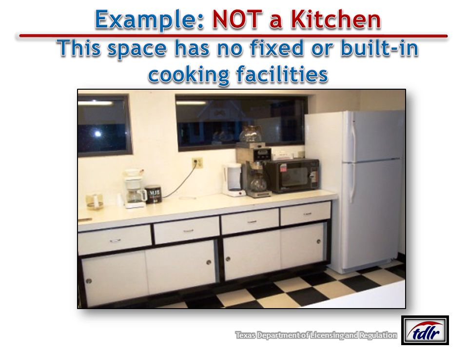 This space has no fixed or built-in cooking facilities