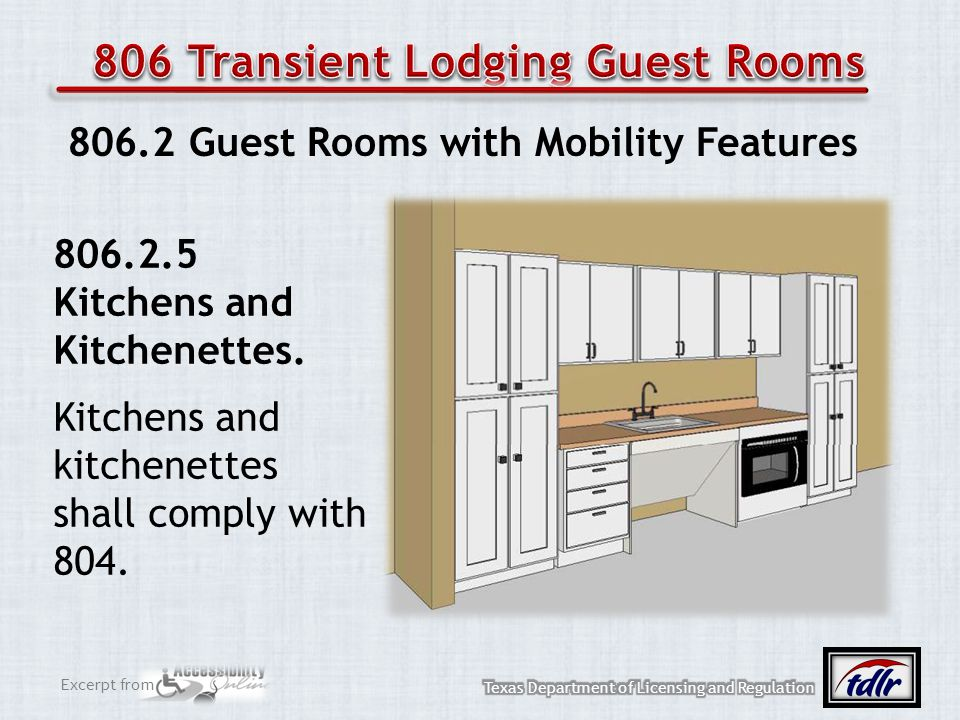 806 Transient Lodging Guest Rooms