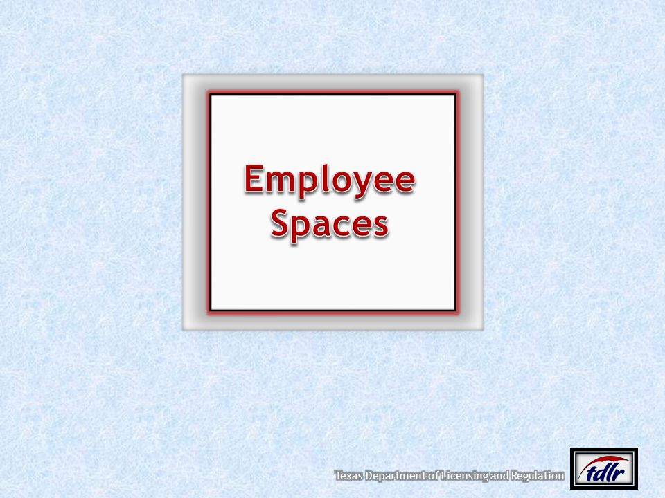 Employee Spaces