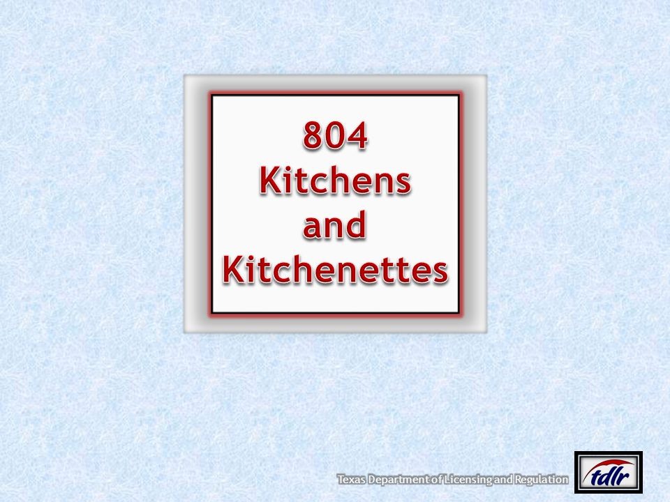804 Kitchens and Kitchenettes