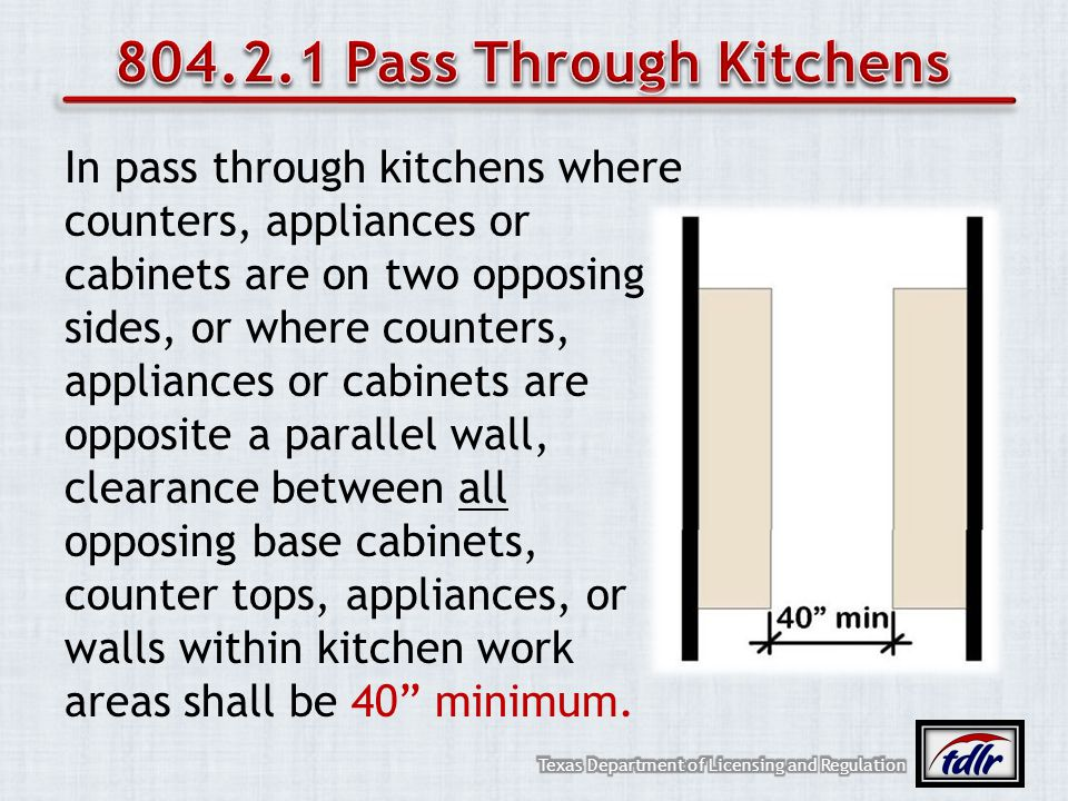804.2.1 Pass Through Kitchens