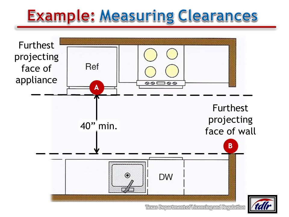 Example: Measuring Clearances
