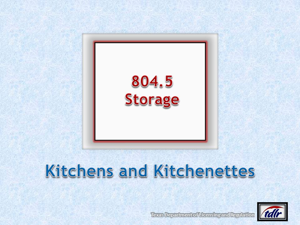 Kitchens and Kitchenettes
