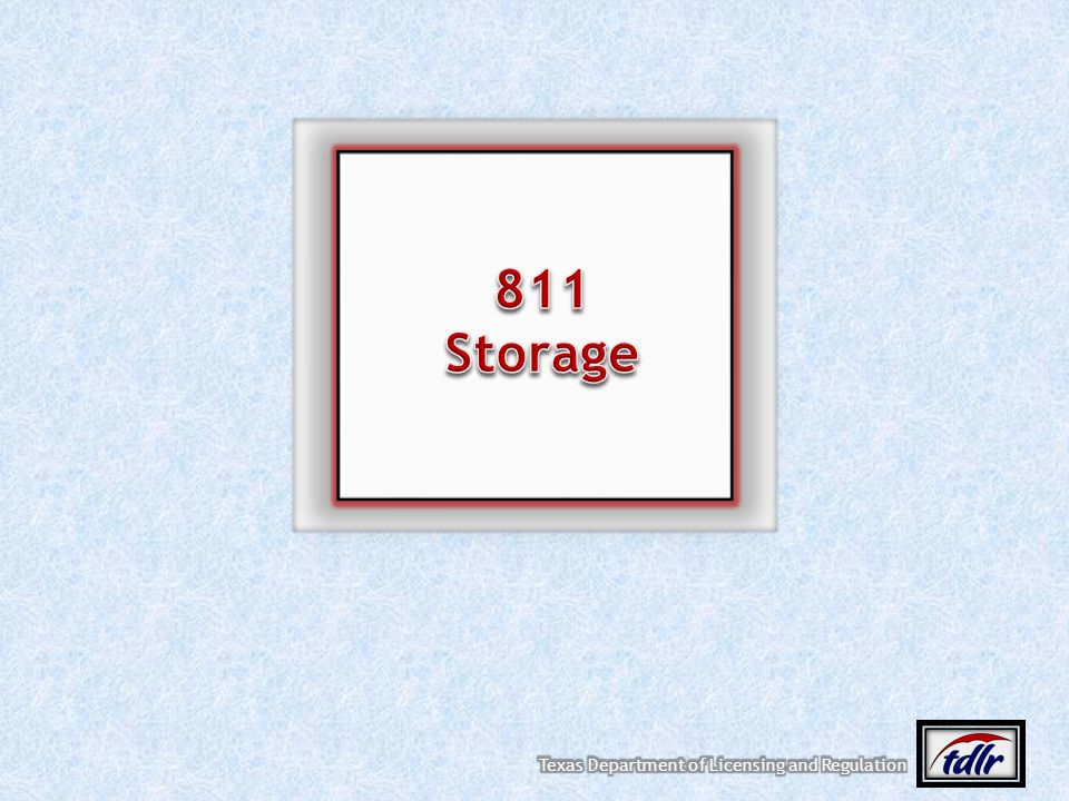 811 Storage