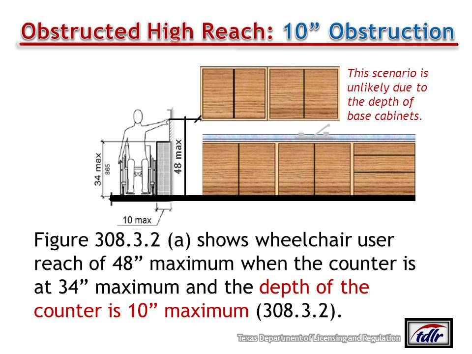 Obstructed High Reach: 10 Obstruction