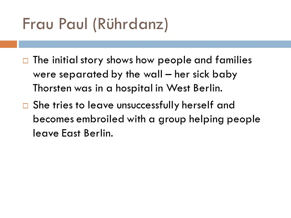 Frau Paul (Rührdanz)