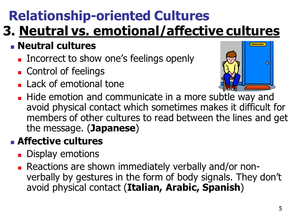 relationship oriented culture