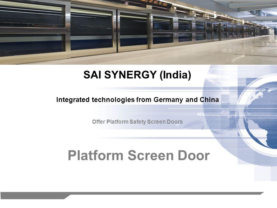 Platform Screen Door SAI SYNERGY (India)