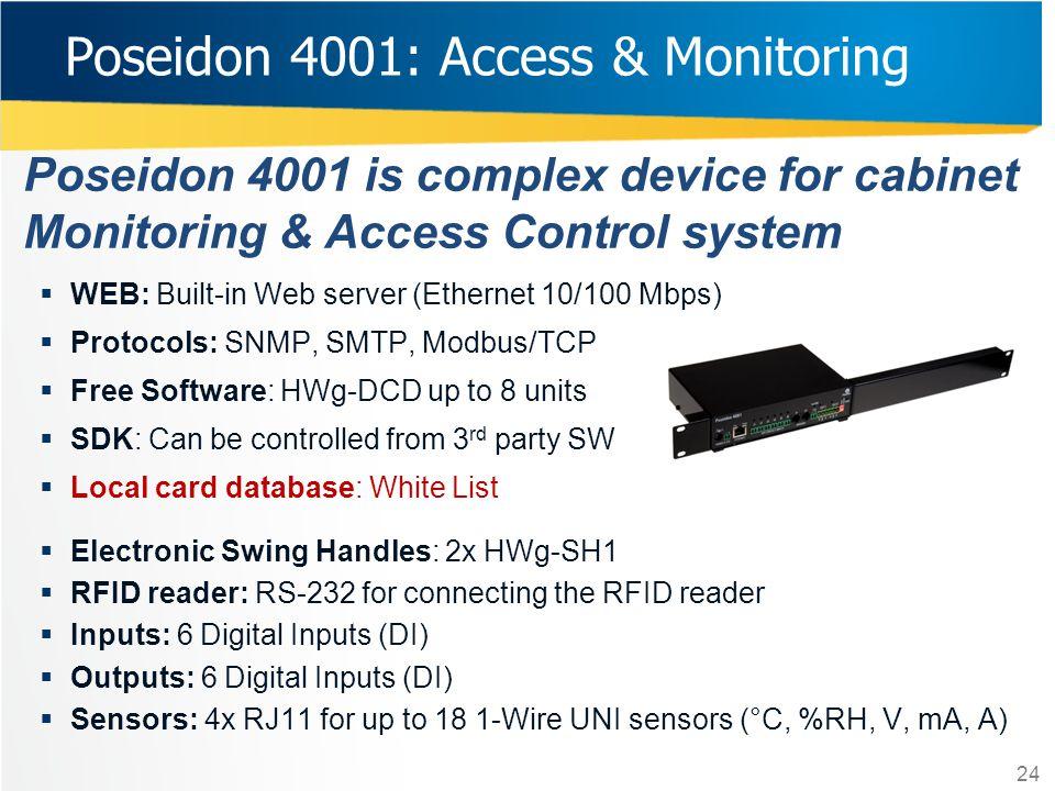 Poseidon 4001: Access & Monitoring
