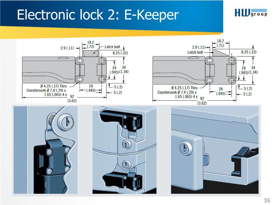 Electronic lock 2: E-Keeper